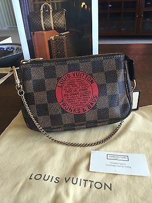 8799462f265 Auth Louis Vuitton Trunks And Bags Limited Edition Mini Pochette Accesories