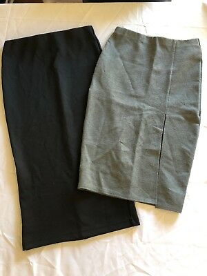 2 x Work Corporate Skirts Size 8 Small Valleygirl & Target