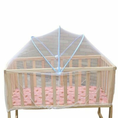 1 x Baby Cradle Bed Mosquito Nets Summer Baby Safe Arched Mosquitos Net, Ra D8D3