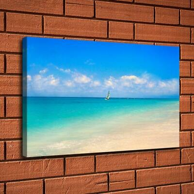 Mint green sea HD Canvas Print Painting Home Decor room Wall Art Picture 107596