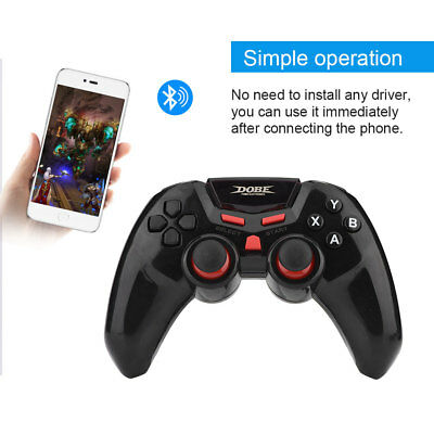 Wireless Bluetooth Joystick Game Controller Gamepad for Android IOS PC TV DC5V