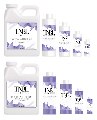 TNBL Acrylic Liquid Monomer Ultra Adhesion ** Various Sizes **