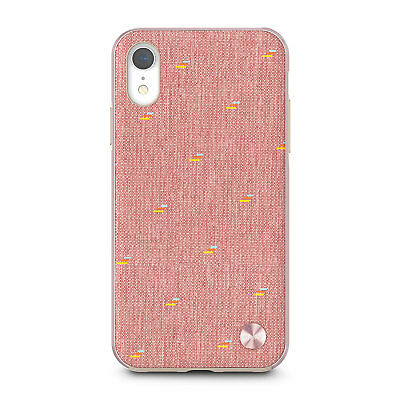 Moshi Vesta Slim Hardshell Case Cover iPhone XR Pink Drop Protective SS