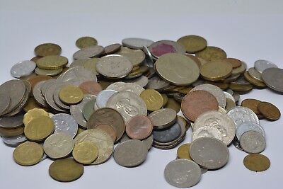 Bulk Lot OF Assorted World Foreign Coins