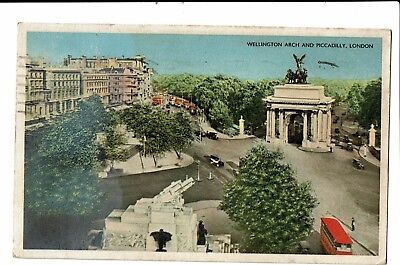 CPA - Carte postale -  Royaume Uni - Wellington arch and Piccadilly -1954 VM67