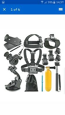 Gopro Accessories Kit for Sport Action Camera produced by neewer