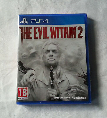 The Evil Within 2 _ Version française / PS4 / Playstation 4 / NEUF Sous blister
