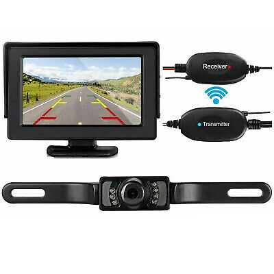 5Wireless Backup Camera and Monitor Kit Rear View System Night Vision Waterproof