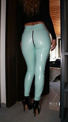 PUSSYRIOT 3-Wege-Ouvert-Zip BOOTY Leggings HL5A_ZV6 CrystalLac Z360 - MINT - M