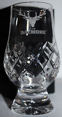 Dalmore Official Glencairn Cut Crystal Scotch Malt Whisky Tasting Glass