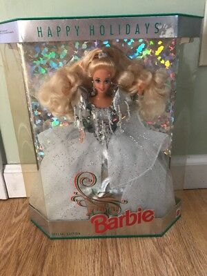 1992 Happy Holiday Barbie Doll Special Limited Edition