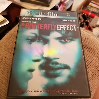 The Butterfly Effect (DVD, 2004, Infinifilm Theatrical Release and Directors Cu…