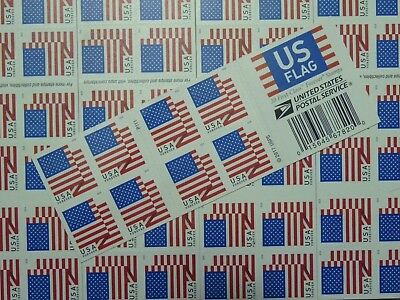USPS First-Class FOREVER Stamps 5 Books 100 Stamps Value $55 Free Shipping