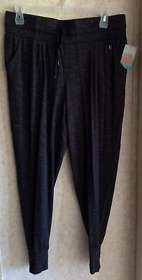 0a966805821 Danskin Now Womens Pants Pull On Loose Fit Terry Joggers New Plus Size 1X  16W