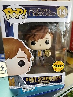 Funko POP! The Crimes Of Grindelwald #14 Newt Scamander -CHASE. Fantastic Beasts