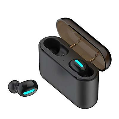 Auriculares HBQ-Q32 TWS Super mini Invisible Bluetooth Inalambricas caja Carga