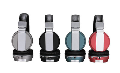 Bluetooth Headphone, Foldable Over-Ear Headphone Built-in Mic Stereo Sound