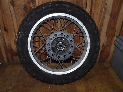 Hinterrad / rear wheel / Honda XL 600 R-PD03