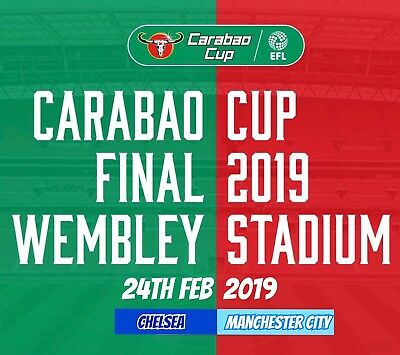 Pre Order Carabao Cup Final 2019 Chelsea V Man City