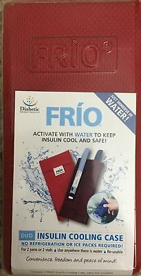 Diabetic Specialty Products FRIO Duo Insulin Cooling Case Red or Blue for 2 Pens