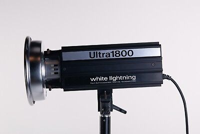 Paul C Buff Ultra 1800 White Lightning Studio Flash Strobe Light
