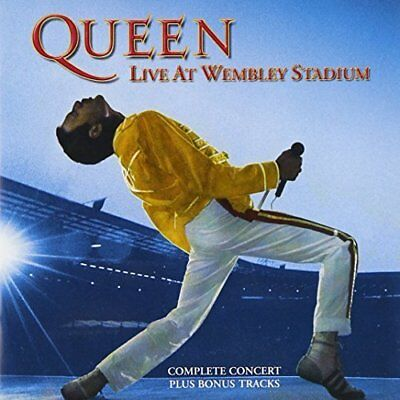 Queen-Live At Wembley Cd Nuovo