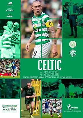 Celtic v Rangers 2018/19 brand new football programme