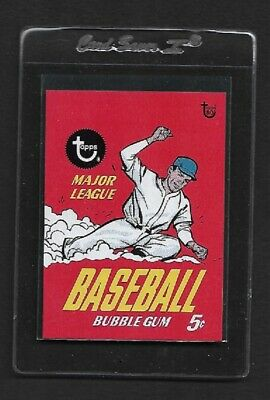2018 Topps 80th Anniversary Wrapper Art  # 18 1967 BASEBALL -TOPPS SOLD OUT!
