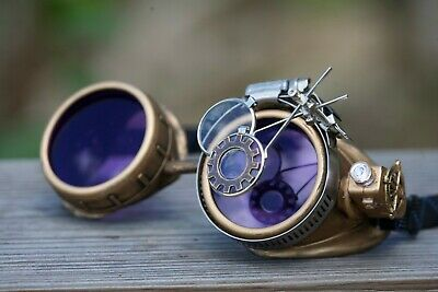 Steampunk Goggles Burning man festival accessories punk goth victorian fashion