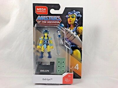 EVIL LYN Mega Construx Heroes Series 4 Masters of the Universe NEW