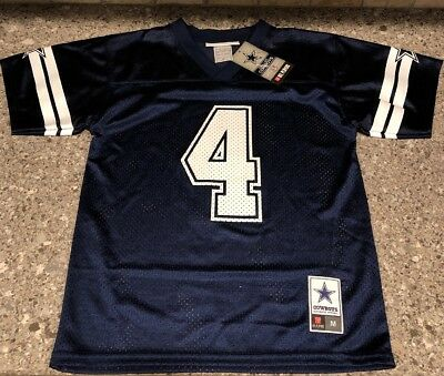 ... promo code for dallas cowboys dak prescott 4 nfl jersey mesh shirt  youth boys sz medium 27d819709