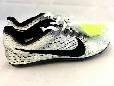 New Nike Zoom Victory 3 Track Spikes White Black Oreo 835997-107 Size 8 89f7068c1