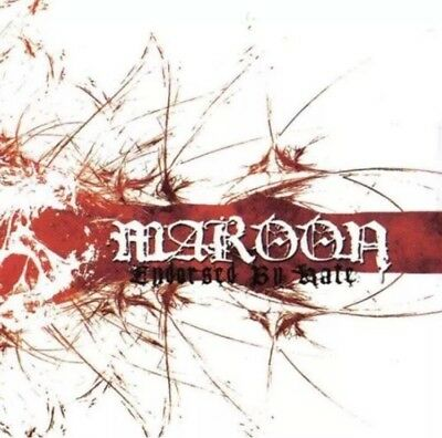 Maroon - Endorsed By Hate CD NEW OOP Arkangel Caliban Kickback Neglect Integrity