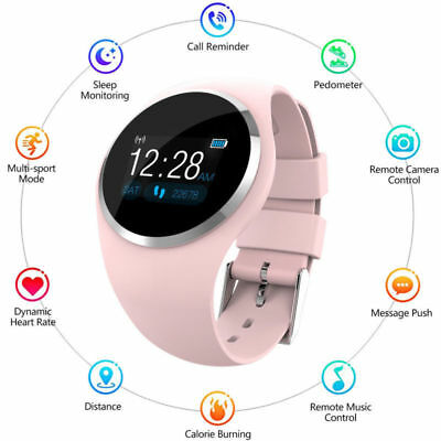 Women&Girl Waterproof Bluetooth Smart Watch Phone Mate For Android iPhone IOS SE