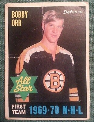1970-71 OPC #236 Bobby Orr All Star - Boston Bruins
