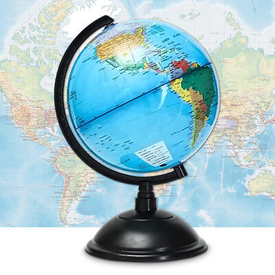 World Globe Map Large Kids On Stand Light Of The Blue Gift Toy Education 20