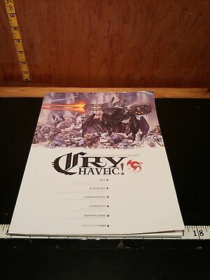 Cry Havoc Magazine 15 - 2007 - Rackham - AT-43, tactics,  Confrontation (shelf1)