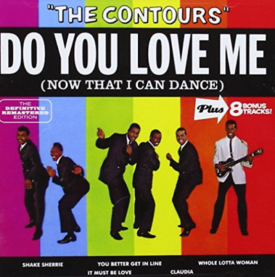 Contours-Do You Love Me (US IMPORT) CD NEW