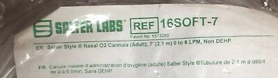 Lot of 4 Salter Labs 16SOFT-7 Oxygen Nasal Cannula w/ 7ft Tubing