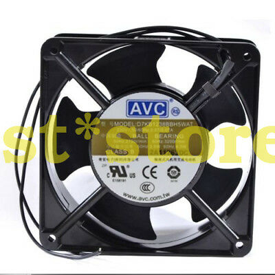 for NEW AVC 230V 50/60Hz 0.07A D7KB1238BBH5WAT Cabinet Cooling Fan ball 12038
