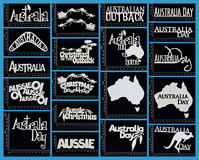 White Chipboard - Australia Titles - Collection One