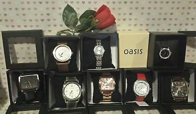 JOB LOT of Watches Mens Ladies FIRE TRAP, OASIS, NEXT, ASOS VALENTINES GIFTS J86