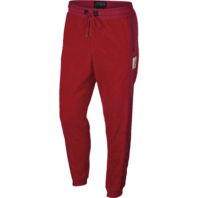 03e9047e38e Jordan Sportswear Wings Of Flight Fleece Pants New Men's 2018 Gym Red  AH6257-687
