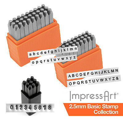 ImpressArt 2.5mm Basic Economy 63 pc.  Full Collection for Stamping