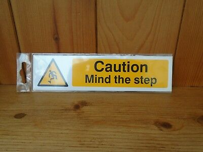 Scan Caution Mind The Step-PVC 200 x 50 mm SCA5109