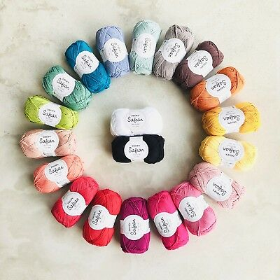 1kg 4ply cotton yarn pack! 100% Combed Egyptian cotton - knitting crochet gifts