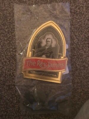 Brains The Rev James Beer Pump Clip Breweriana Brand New Free Fast P+P