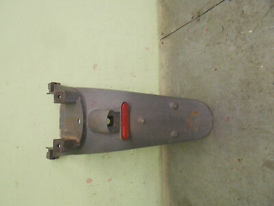 piaggio  b125  beverly   no plate  holder