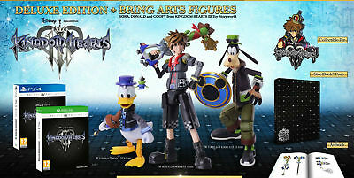 kingdom hearts 3 III collector's deluxe bring arts bundle limited ps4 pal