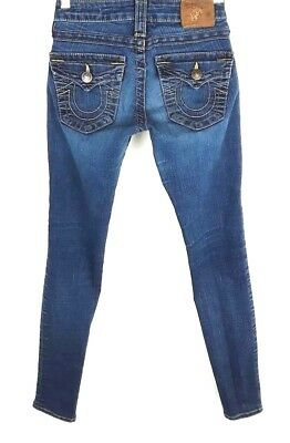 e0146ee63 TRUE RELIGION FLORAL Colorful Pattern Skinny Jeans Size 23 -  24.99 ...
